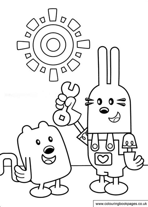 wow wow wubbzy colouring pages 10 preschoolers printing