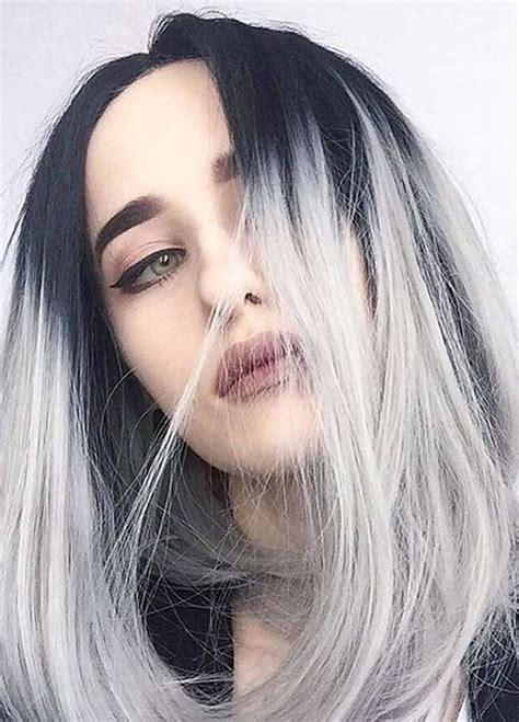 gray hair color gray hair color ideas 2018 2019 hair tutorial