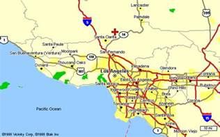santa clarita california map santa clarita california map