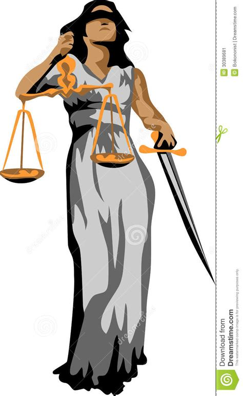 color of justice justitia stock image image 30389681
