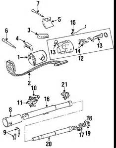 Jeep Yj Steering Column Exploded View For The 1987 Jeep Yj Wrangler Tilt