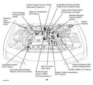 1998 honda civic engine diagram
