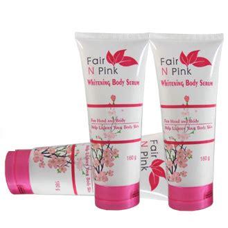 Serum Fair N Pink Boleh Untuk Wajah harga fair n pink asli termurah baik harga paket atau ecer