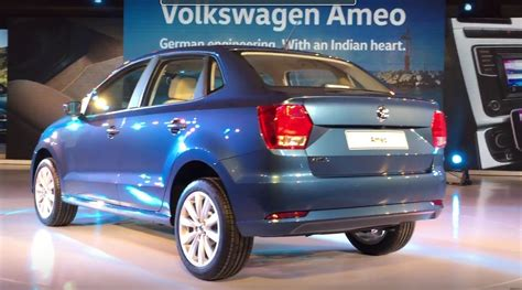volkswagen ameo 2016 volkswagen ameo revealed in india targets sub 4
