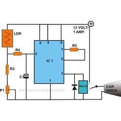 Car Lights Alarm Circuit Build These Simple Alarm Circuits Using Ic 555
