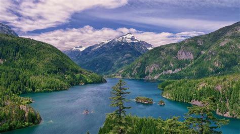 beautiful lake beautiful sky beautiful hd wallpaper landscape lake mountains with green