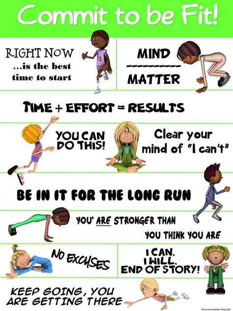 printable exercise poster 412 best images about pe fitness on pinterest activities