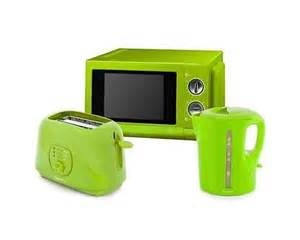 Toaster Oven Timer Switch Signature Microwave Toaster Kettle Lime Green Bundle