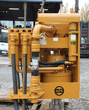 ape top drive auger specifications