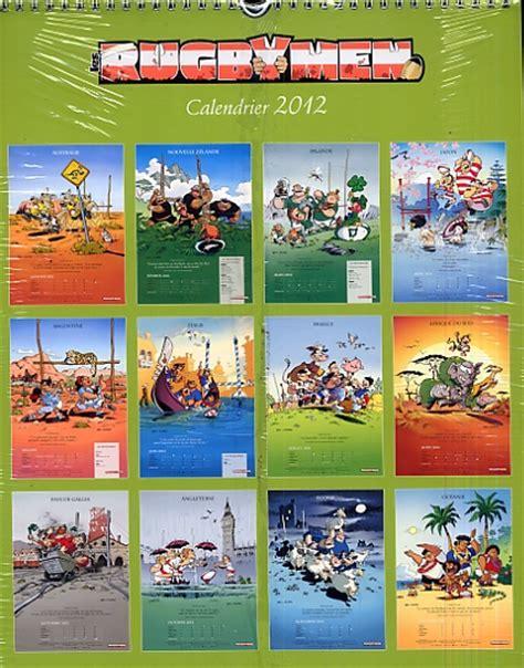 Calendrier Rugbymen Calendrier Mural 2012 Les Rugbymen Poupard B 233 Ka