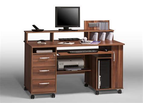 schreibtisch büro computertisch walnuss bestseller shop f 252 r m 246 bel und