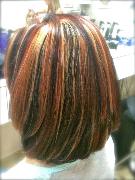 Tri Color Weave Cheyledo Cut Color Style Hair Light And Highlights Medium Length Hair With Highlights Search Hair Color