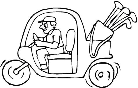 coloring pages mega golf printable coloring pages