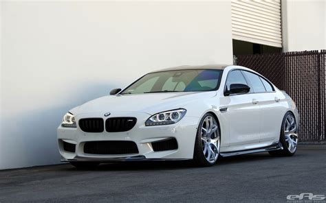 stunning alpine white bmw m6 gran coupe gets arkym