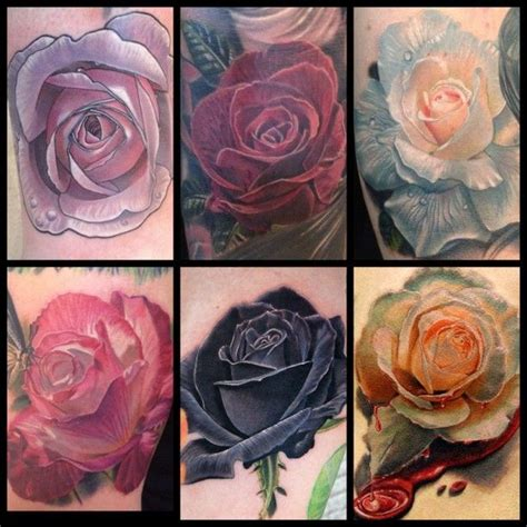 wilted rose tattoo beautiful work by phil garcia tattoos