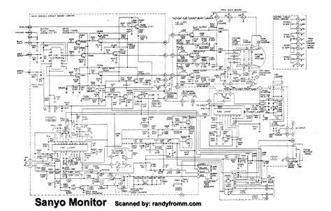 sanyo wiring diagram wiring diagram and schematics