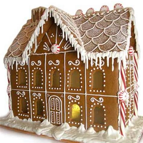 seed to feed me ginger bread house