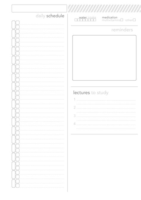 daily planner template tumblr planner tumblr