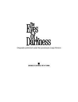 The Eyes of Darkness by Koontz Dean Ray (1981