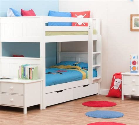 childrens bunk beds white classic bunk bed white