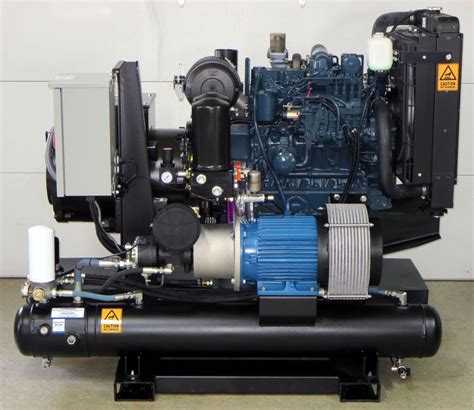 kw  cfm spray foam rig diesel generator compressor