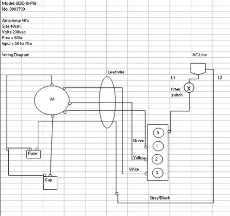 fan wire diagram ceiling fan wiring diagram with capacitor