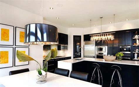Black Kitchen Decor by Black And White Kitchen Ideas