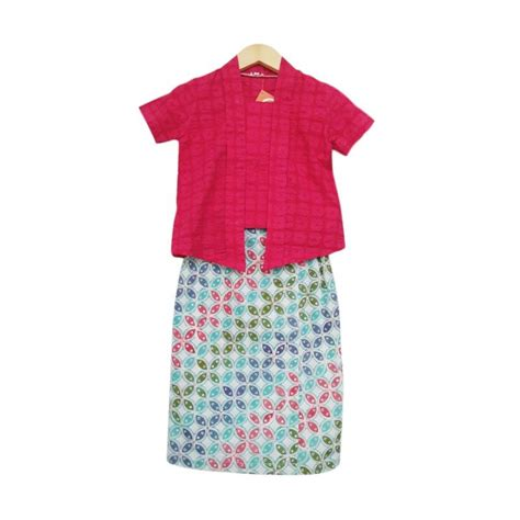 Setelan Anak Sweet Cherry promo batik festival blibli