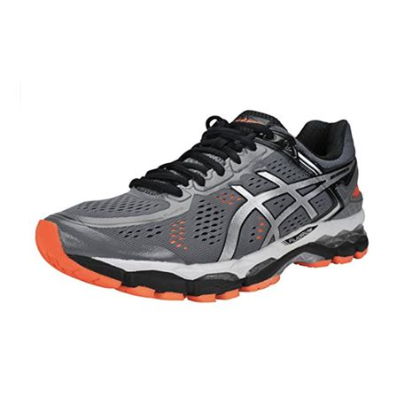 asic running shoes for flat the asics men s gel kayano 22 running shoe is great for