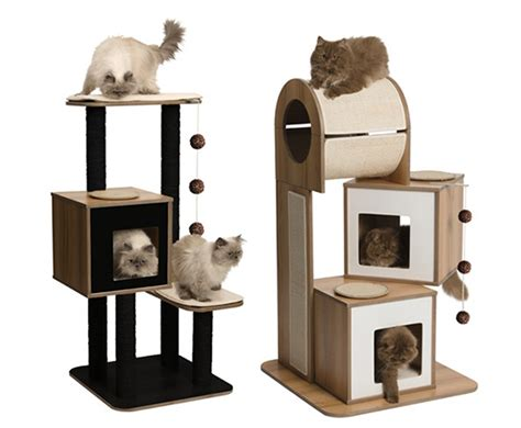 cat furniture sneak peek new vesper modern cat furniture from hagen