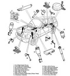 8 best images of range rover suspension diagram land rover air suspension diagram 1996 land