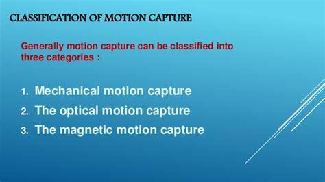 motion capture motion capture technology