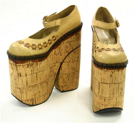 slv some like it vintage 1970s vintage platform shoes