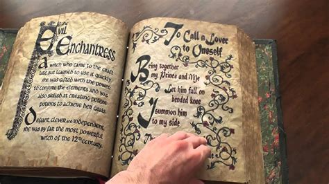 ideas que pegan pdf full flip through of my charmed book of shadows replica