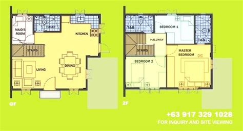 camella homes drina floor plan drina house for sale in vista city daang hari