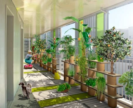 how to create a vegetable garden on the balcony