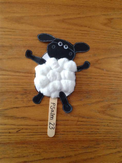 Papercraft Sheep - sheep bible craft for bible crafts