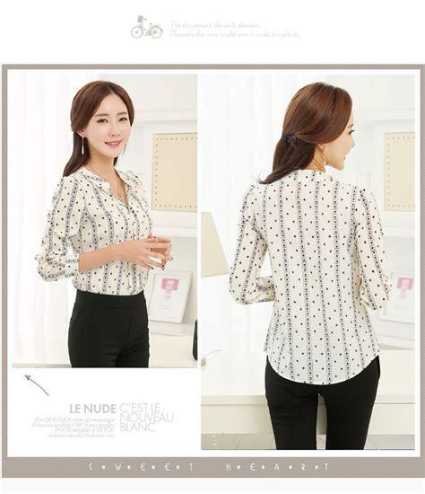 Baju Atasan Warna Putih baju atasan motif cantik warna putih myrosefashion