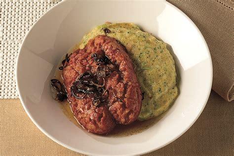 salamelle mantovane ricetta salamelle con polenta ai broccoletti la cucina