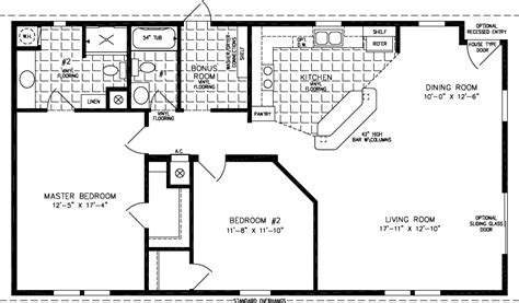 Floor Plans 1000 Square Feet by Floorplans For Manufactured Homes 1200 To 1399 Square Feet