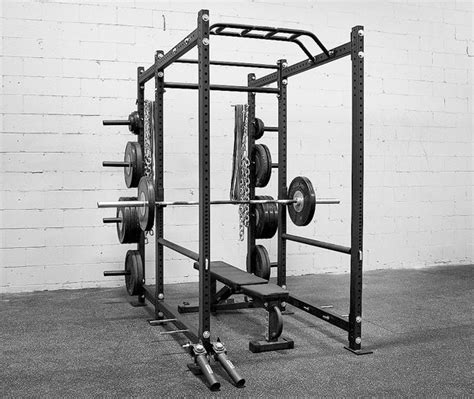 Rogue Power Rack by Rogue R 6 Power Rack Weight Plate Storage