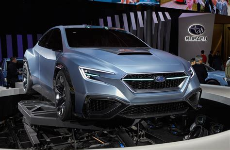 subaru concept 2017 subaru hints at next gen wrx with viziv performance concept
