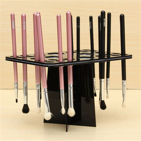 Brush Drying Rack buy collapsible mix size makeup brush drying rack holder