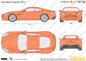 Blueprint Drawing Online the blueprints com vector drawing aston martin vanquish