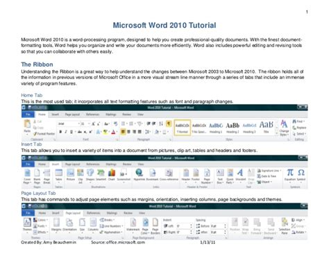 icdl word processing ms word 2010 tutorial 2010 word 2010 tutorial