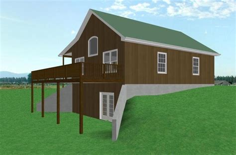 cabin floor plans with walkout basement walkout basement house plans photos cabin floor plans