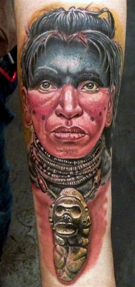 taino tattoo taino warrior