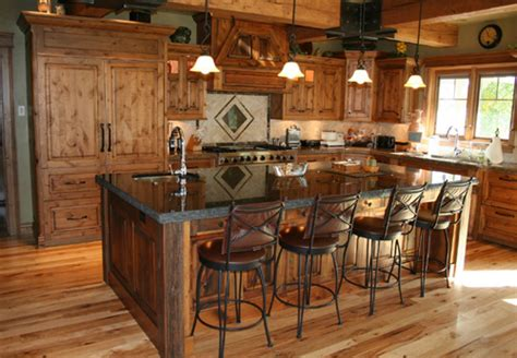 western kitchen cabinets mike roths paw designs western furniture for the cowboy at