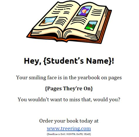 Yearbook Flyer Template The Only Yearbook Flyers You Need And They Re Free