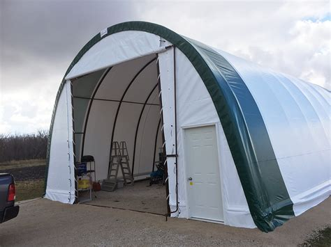 Rv Garage Doors fastcover introduces new canvas structure at brandon ag days